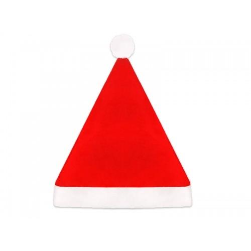 Cappello di Babbo Natale Rosso con PomPom
