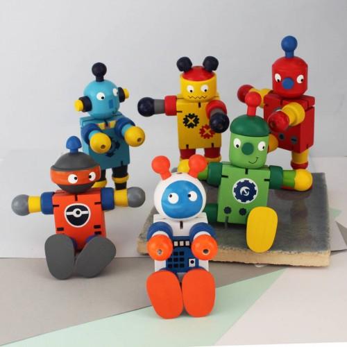 Robot di legno