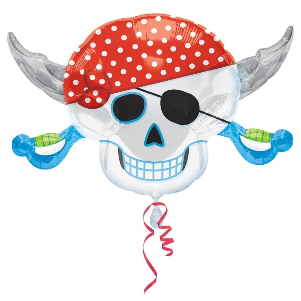 Immagini Di Teschio Pirati palloncino teschio festa pirati