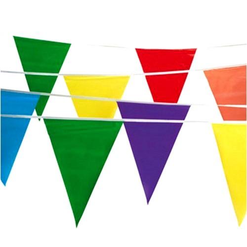 Festone Bandiere Colorate 10 Metri