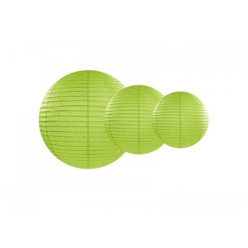 Lanterne di Carta Verde Mela