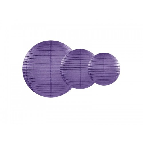 Lanterne di Carta Viola
