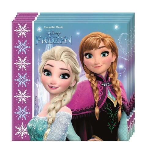 20 Tovaglioli Festa Frozen
